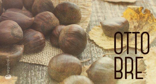 Frutta e verdura di stagione: ottobre