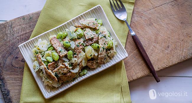 Edamame con scaglie di tempeh ricette vegane vegolosi for Cucinare edamame