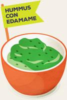 Hummus-edamame