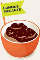 Hummus-piccante