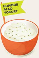 Hummus-yogurt
