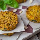 burger vegani anacardi carote