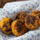 Muffin vegani con mango