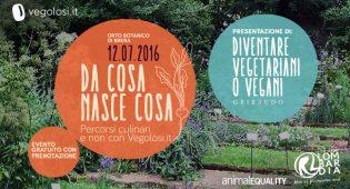 """""""Da cosa nasce cosa"""": l'evento all'orto botanico di Brera a Milano"""
