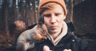 """Konsta Punkka, fotografo degli animali: """"Prima il loro benessere, poi gli scatti"""""""