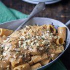 pasta besciamella castagne rosmarino nocciole