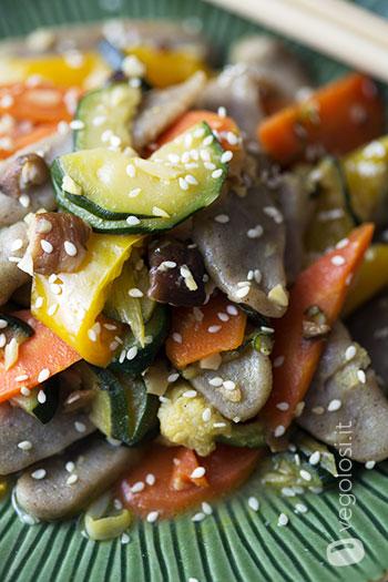 Gnocchi di riso integrale e verdure ricetta for Ricette cinesi riso