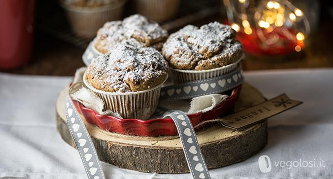 muffin panettone vegano
