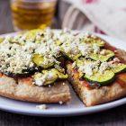 Pizza vegana in padella