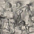 Vignetta vegetariana storica