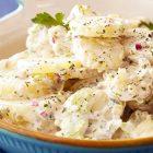 insalata di patate vegan