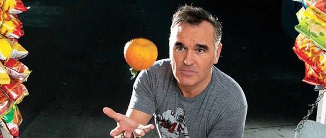 Morrissey Vegetariano