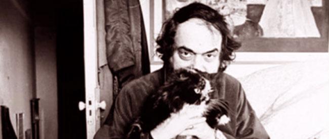 Stanley Kubrick e il suo gatto