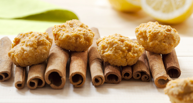 Biscotti limone cannella carote - ©Vegolosi.it