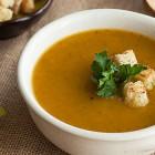vellutata di zucca al curry