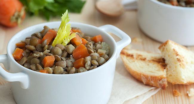 Zuppa di lenticchie - ©Vegolosi.it