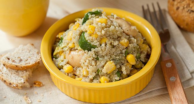 Quinoa in insalata
