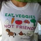 Che maglietta veg! - Festival vegetariano di Gorizia 2013: inaugurazione