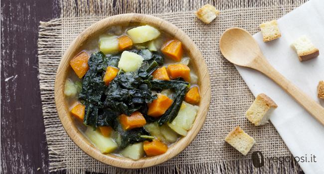 Zuppa di cavolo nero ricette con il cavolo nero - Cucinare il cavolo ...