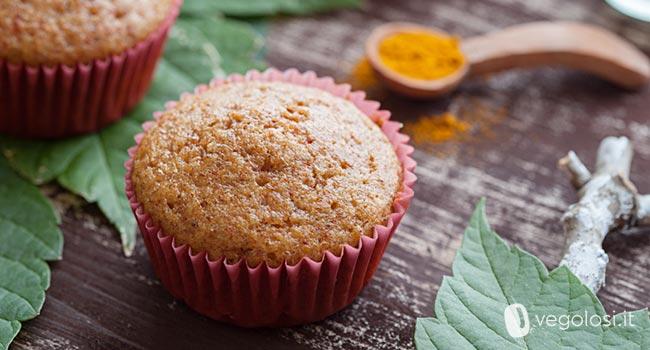 muffin alla curcuma