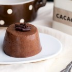 Budino vegano di miglio al cacao