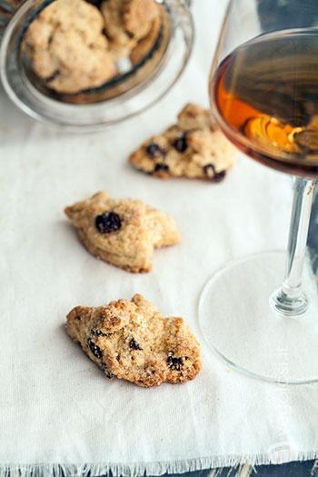 biscotti vegani al vino passito
