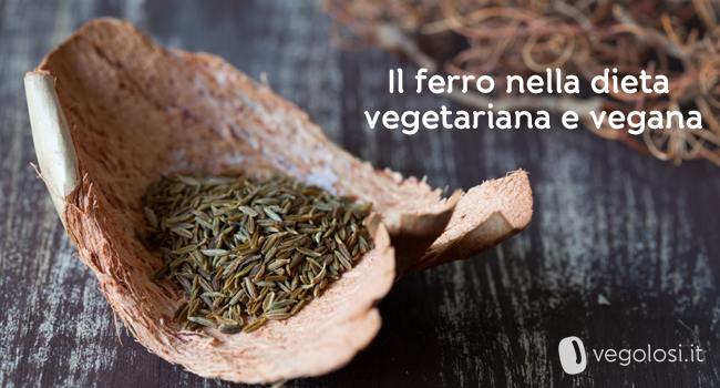 Ferro nella dieta vegetariana
