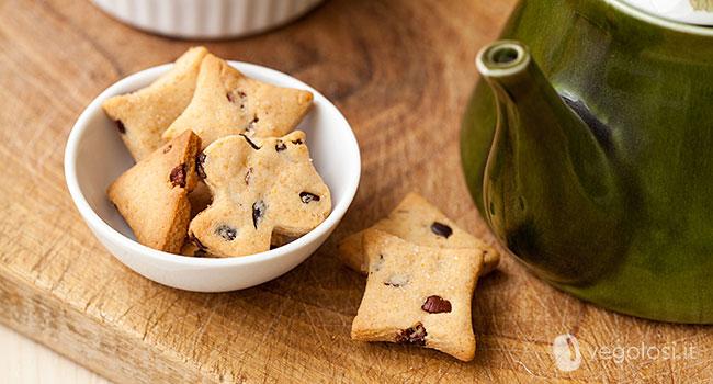 Biscotti vegani alle fave di cacao