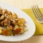 Tofu finocchi e mele