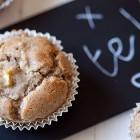 Muffin di grano saraceno alle mele