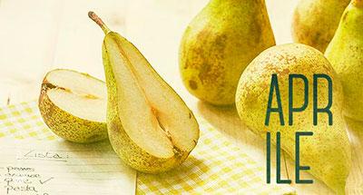 Aprile - Frutta e verdura di stagione