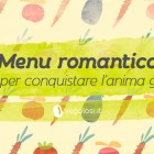 Menu vegan romantico