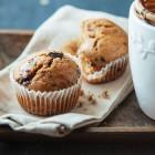Muffin al tè e cioccolato