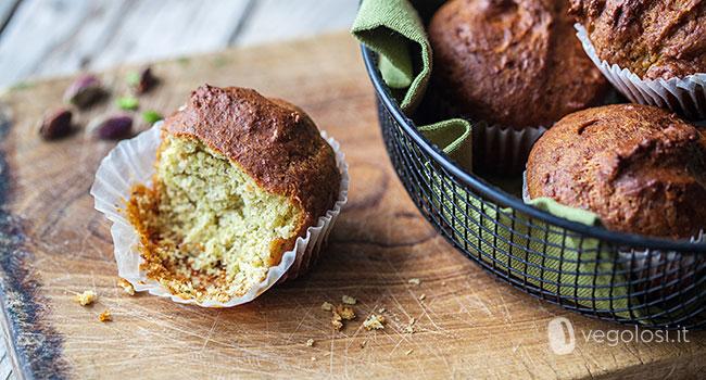 Muffin al pesto di pistacchi