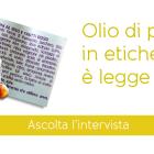 Olio-palma etichetta