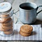 Biscotti vegani senza burro al cocco