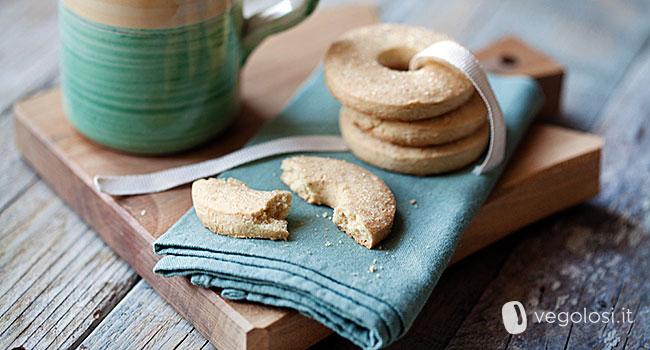 biscotti vegani senza glutine al cocco