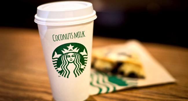 Starbuks latte di cocco