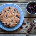 torta ai mirtilli senza glutine