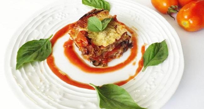 Fake-parmigiana alle melanzane