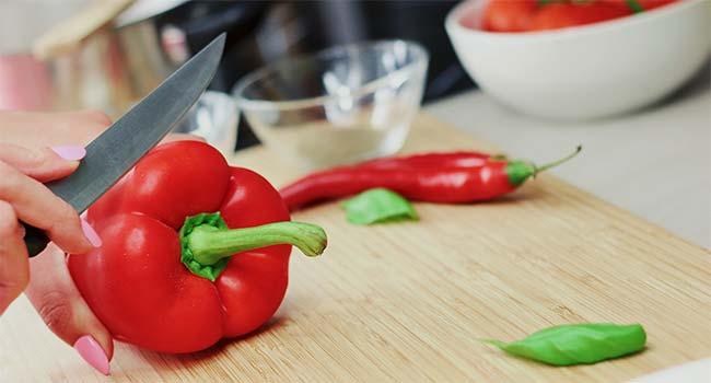 Peperoni ripieni vegani