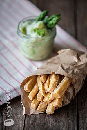 Chips di tempeh