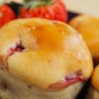 muffin vegani alle fragole e cioccolato bianco