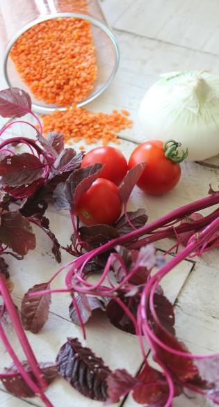 spinaci e lenticchie 1