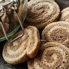Biscotti vegani variegati al caffè
