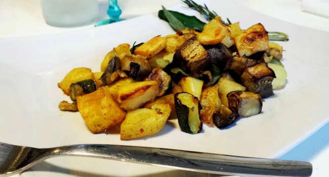 Patate zucchine e melanzane al forno vegblogger - Forno a vapore ricette ...