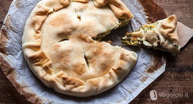 Cucina vegana ricette torte salate