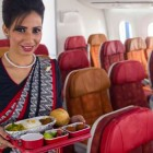 Pasti vegetariani aereo india