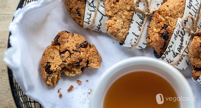 Biscotti con bacche digoji