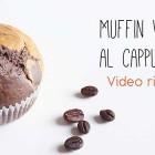 Muffin vegani al cappuccino